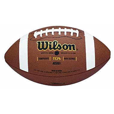 Wilson TDS Composite High School Game Ball Football