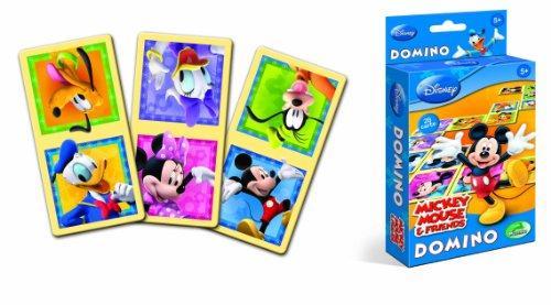 Modiano Disney - Dominó, diseño de Mickey [Importado de Italia]
