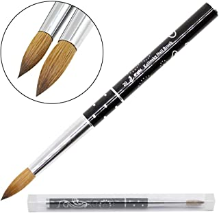 1pc Mitini 100% Kolinsky Sable Brushes Acrylic Nail Brush Professional Nail Art Tool (8)