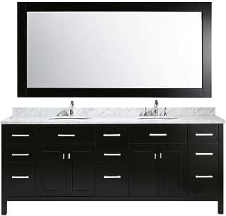 Best 84 inch double sink bathroom vanities Reviews