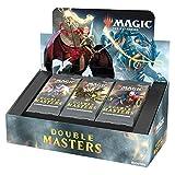 Caja de potenciadores de Draft Magic: The Gathering Double Masters, 24 boosters (360 Tarjetas), 2 Tarjetas de presentación