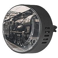 エッセンシャル オイル ベント クリップ用カー ディフューザー、スチームエンジンの電車 ,2 パック 40mm アロマセラピー芳香剤
