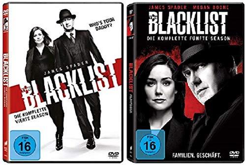 bester der welt Blacklist 4 + 5 Jahreszeiten [DVD Set] 2021