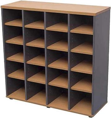RapidLine Pigeon Hole Unit 20 Holes Bookcase 1040mm x 380mm x 1040mm