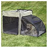 Guardian Gear Expand-A-Crate for Pets, Medium, Taupe