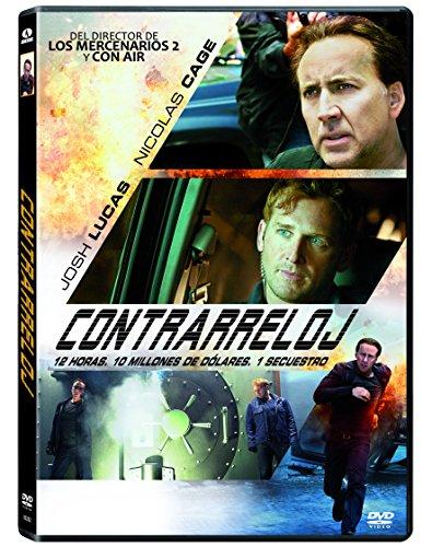 Contrarreloj (Import Dvd) (2013) Nicolas Cage; Josh Lucas; Simon West; SC Film