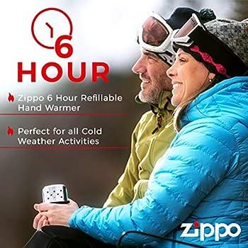 Herlitz Zippo Handwärmer 60001661 Hand Warmer High Polish Chrome 6 Hours Briquet Unisexe