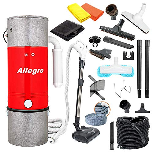Allegro Central Vacuum Most Powerful System Top of...