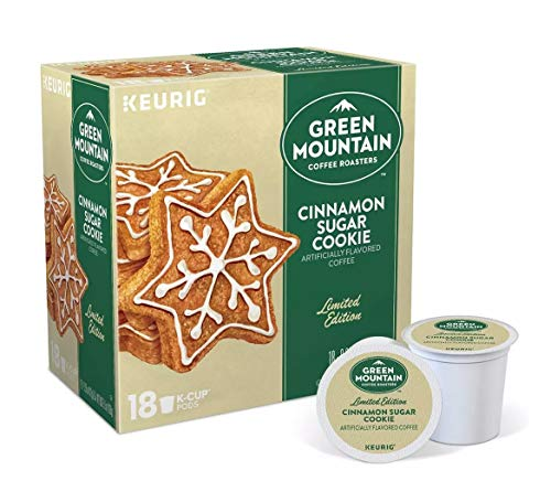 Keurig K-Cup Pack 18-Count Green Mountain Coffee Cinnamon Sugar Cookie Coffee
