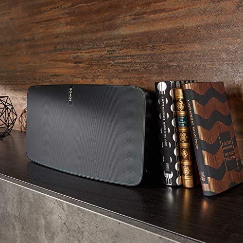 Sonos PLAY:5 I Klangstarker Multiroom Smart Speaker für Wireless Music Streaming (schwarz) - 6