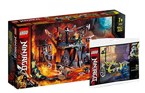 Collectix Lego Ninjago - Set: 71717 Reise zu den Totenkopfverliesen + 30537 Merchant Avatar Jay
