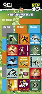 Ben 10 - Reward Sticker Chart - Sticker Style