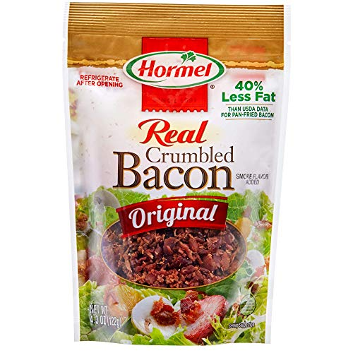 HORMEL Premium Real Crumbled Bacon, 4.3 Ounce
