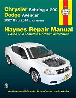 Haynes Repair Manuals 25041 Chrysler Sebring Sedan (07-10), Sebring Convertible (08-10)
