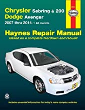 Haynes Repair Manuals 25041 Chrysler Sebring Sedan (07-10), Sebring Convertible (08-10)