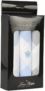 Louis Phillipe Men's Cotton Handkerchief (8904241906478_UAE4186_White)