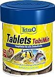 Tetra Tablets TabiMin Hauptfutter, Futtertabletten für am Boden gründelnde Zierfische, 66 ml/ 120 Tabletten