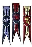 フランスベッド Game of Throne Bandera Game of Thrones Banner Juego de Tronos póster Stark Flag Targaryen Banner Lannister Poster