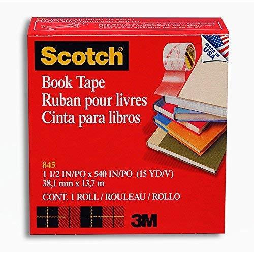 3M COMPANY 3M SCOTCH BOOKBINDING TAPE (Set of 6)