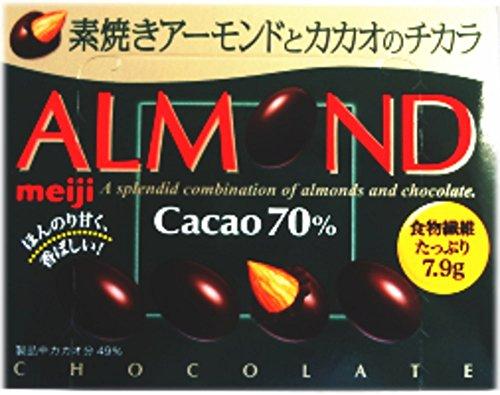 明治 アーモンドチョコレートカカオ70% 68g×10箱