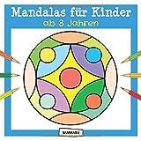 Mandalas für Kinder ab 3 Jahren: Mandala-Malbuch mit einfachen Motiven und dicken Linien
