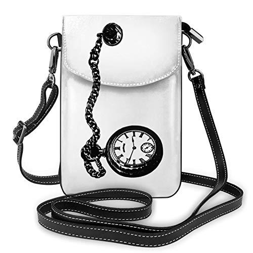 Bolso Crossbody del monedero del teléfono celular del reloj del bolsillo, bolso del teléfono, monedero de la cartera del teléfono celular