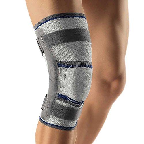 Bort Stabilo® Kniebandage mit Gelenk Knie Gelenk Bandage Schiene Stütze, Links, L