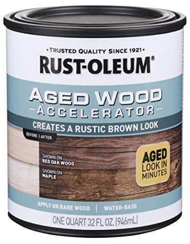 Rust-Oleum 331305 Aged Wood Accelerator, Brown