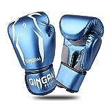 GINGPAI Boxing Gloves for Men Women,Kids Punching Bag Gloves,Boxing Kickboxing Mitts,Pro Style Boxing Training Gloves,Sparring Heavy Bag Gloves