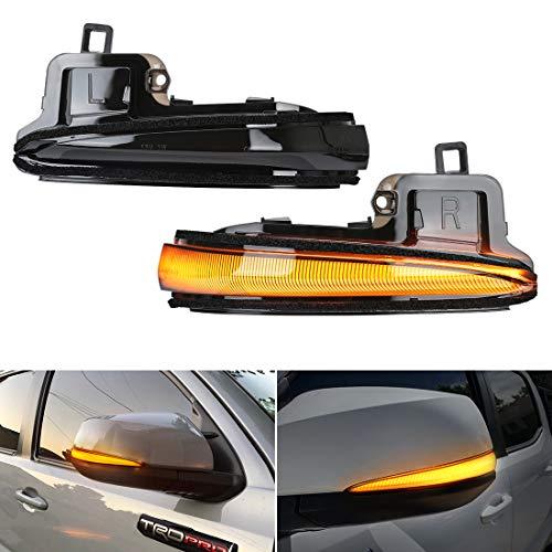 SUPAREE LED Side Mirror Turn Signal Lights, Sequential Dynamic Indicator Strip for 2016-2021 Tacoma, 2019-2021 RAV4 XA50,2020 Highlander XU70, Alphard Velltire Lexus LM