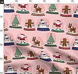 Schnee, Weihnachten, Weihnachtsbaum, Weihnachtsmann,