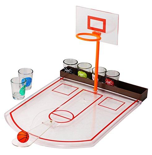 8 Piece Basketball Drinking Game Set