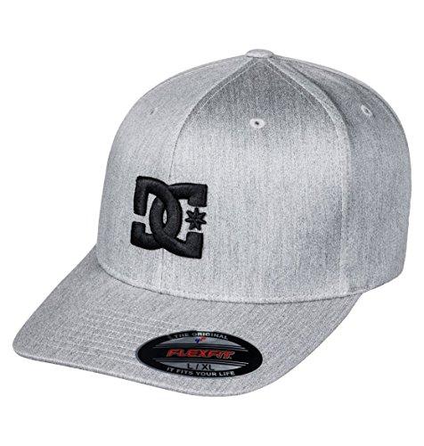 DC Shoes Herren Kappe Capstar TX - Flexfit Cap für Männer, Castlerock, S/M, ADYHA03561