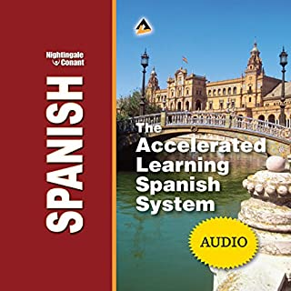 The Accelerated Learning Spanish System audiobook cover art