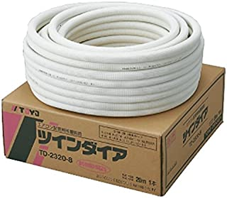TOYO ペアコイル エアコン用被覆銅管 2分3分配管 20m TD-2320-8