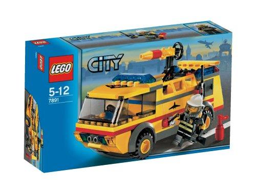 LEGO City 7891 - Flughafen-Feuerwehrwagen