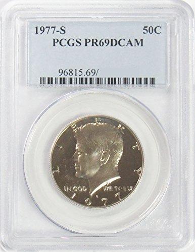 1977 S Kennedy Half Dollar 50¢ PR69DCAM PCGS