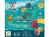 Djeco- Juego Bluff Pirate Juguetes para apilar y Encajar (38417)