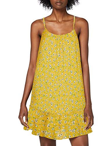 Superdry Damen Daisy Beach Dress Kleid, Gelb (Yellow Floral 53L), M (Herstellergröße:12)
