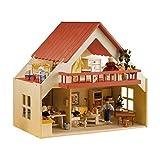 Rülke Holzspielzeug 23161 Puppenhaus, holzfarben