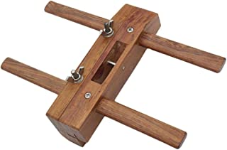 Dolity Premium Rosewood High Speed Steel Hand Plane Slot Grooving Wood Plane Carpenter's Tool for Woodworking Homeimprovem...
