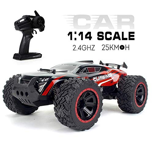 Remote Control car 4WD Off-Road Remote Control Car, 2.4Ghz Wild Climbing High Speed Toy Drift RC Car Rechargeable Boy Girl Toy