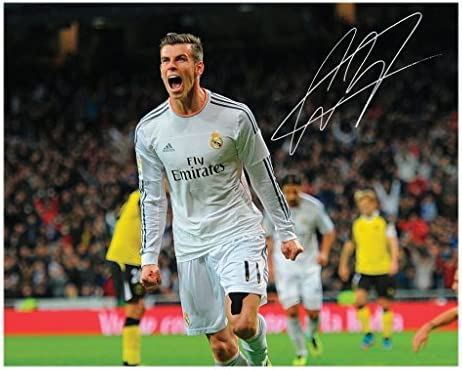 Gareth Bale Real Madrid Signed Autographed 8 x 10 Photo product image