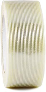 T.R.U. FIL-795 Filament Strapping Tape: 2 in. wide x 60 yds. (4 Mil) (Pack of 12)