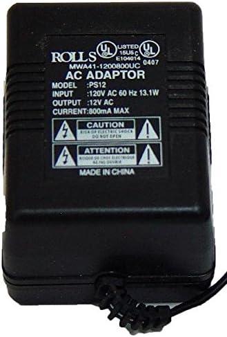 rolls V AC Power Adapter, Black (PS12)