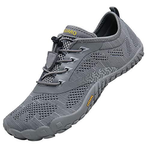 SAGUARO Zapatos Minimalistas de Barefoot Hombres Zapatos de Agua Antideslizante Zapatillas de...