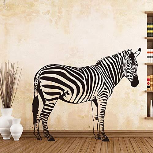 Tianpengyuanshuai Muurtattoo Zebra Attrant achtergrond Muurtattoo slaapkamer woonkamer decoratie zelfklevend behang