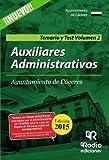 Auxiliares Administrativos del Ayuntamiento de Cáceres. Temario y Test. Volumen II (OPOSICIONES)