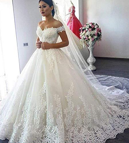Kleid Hochzeitskleid Fischschwanz Sexy Tanzparty Kokosnusskleid Formales Abendkleid Brautkleid Hochzeit/Weiß/Xxl, L-F, Weiß, 6XL