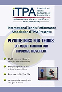 iTPA Plyometrics for Tennis: Off Court Training for Explosive Movement DVD Course
